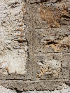MA124-sliten stenvägg